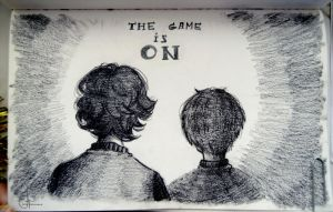 The Game is ON by Julia-Kisteneva