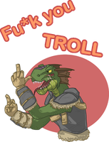 TES - Fu*k you troll by PlaviGmaz