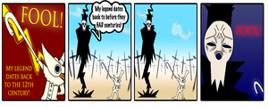 Why didn't Lord Death use Excalibur? by Internet-Ninja