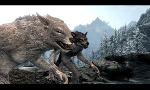 Werewolves - Skyrim - Moonlight Tales by xRuby1234x