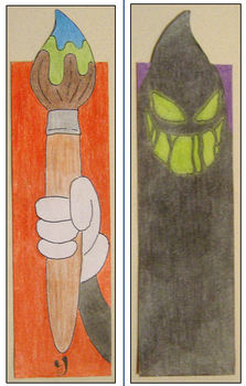 .: Epic Mickey bookmark :. by Ytse80