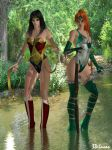 Diana and Artemis by 3d-lucas