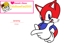 Jeremy Crimson In Sonic Adventure by mewmewspike