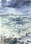 -Postcrossing: The Baltic Piers- by RiEile