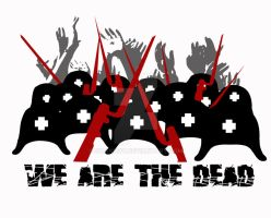 'We Are The Dead' design by swanboy