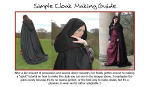 Cloak Making The Elandria Way by Elandria