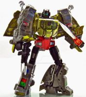 Masterpiece Grimlock - Robot Mode by Weirdwolf75