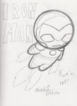 Iron Man Dollie Chibi by Threshie