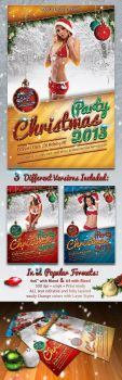 Sexy-Christmas-Party-Flyers by PVillage