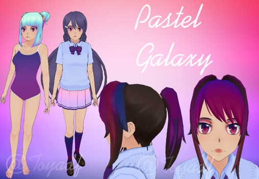 Pastel Galaxy by toyadf