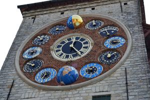 Zimmer Tower (clock), Lier, Belgium by CaryAndFrankArts