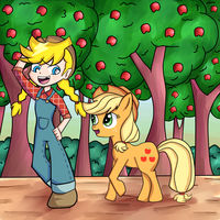 Panty and AJ by Shivery-Ao