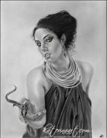 Snake Goddess by Katerina-Art