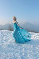 Elsa the snow queen - Frozen by FrancescaMisa