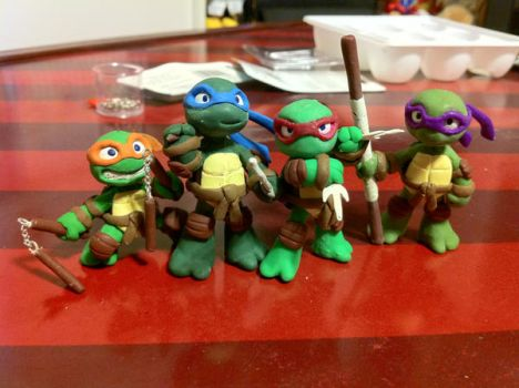 Mini TMNT by Niwa-Katuki