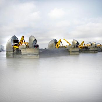 Thames Barrier by Erinti