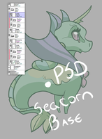 Seacorn Bases *FIX* by jaclynonacloudlines