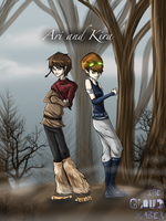 Ari and Kira (Old Version) by LivingAliveCreator