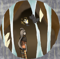 Mine 3 finding none feathered friends by kitzune-griffith