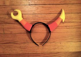 Finished Vriska Horns by LivingLifeInACartoon