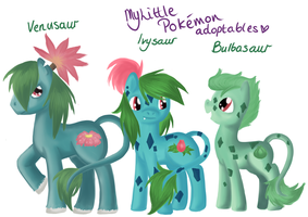 My Little Pokemon Adopts 1 -CLOSED- by ValkyrieSkies