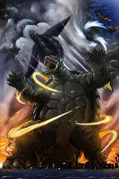 Gamera 50th by gfan2332