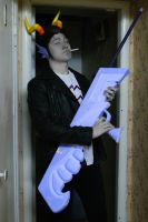Cronus Ampora cosplay test by Dead-Batter