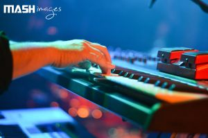 Playing the keys @ Mosterdpop 2012 by MASHimages