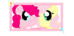 Flutterpie button / stamp by xSugar-Petals