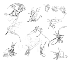 Storm Sketch Dump by Kelskora