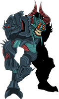 Nulgath the abyss fiend by Suppliciumdeatheater