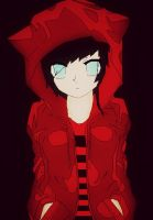 Modern Day Bloody Red Riding Hood by ArtistGirl147