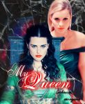 Rebacca and Morgana My Queen by neangel16