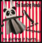 Panda Apron Pinafore by DarlingArmy