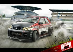 Maruti Sukuzi Alto_race by yasiddesign
