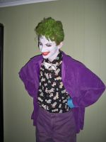 Joker Costume 1st Attempt part 1 by SpiketheKlown