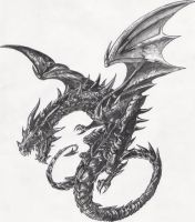 Black Dragon by ThePredatorial
