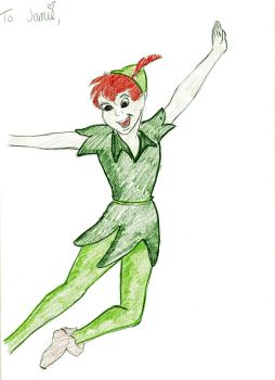 Peter Pan Christmas Present by TerraGirl16