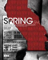 springShow Poster 1 take 2 by kenji2030
