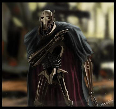 Star Wars III - General Grievous by PetuGee