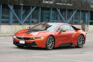 Metallic Orange I8 by SeanTheCarSpotter