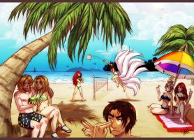 League of Legends - Beach Holiday by Karolykan
