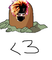 Kyo is Diglett XD by RinSohma