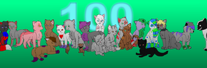 100 Watchers Gift by bambifawnluv