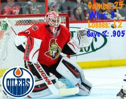 Robin Lehner. by OilersCountry