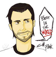 CM Punk by megomobile