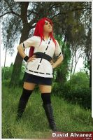 Kushina... Strong redhead by Chika-Sakura