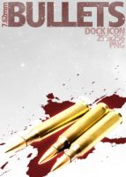 7.62mm Bullets Dock Icon by dEGOnstruction
