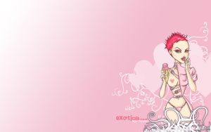 1440x900 IceCream Wallpaper by chikaex0tica