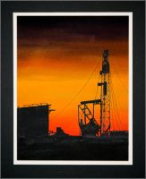 Oil Derrick by SCOm1359AP